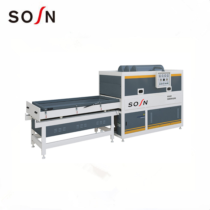 FM2300A-1/1Z one worktable semi and automatic vacuum membrane press