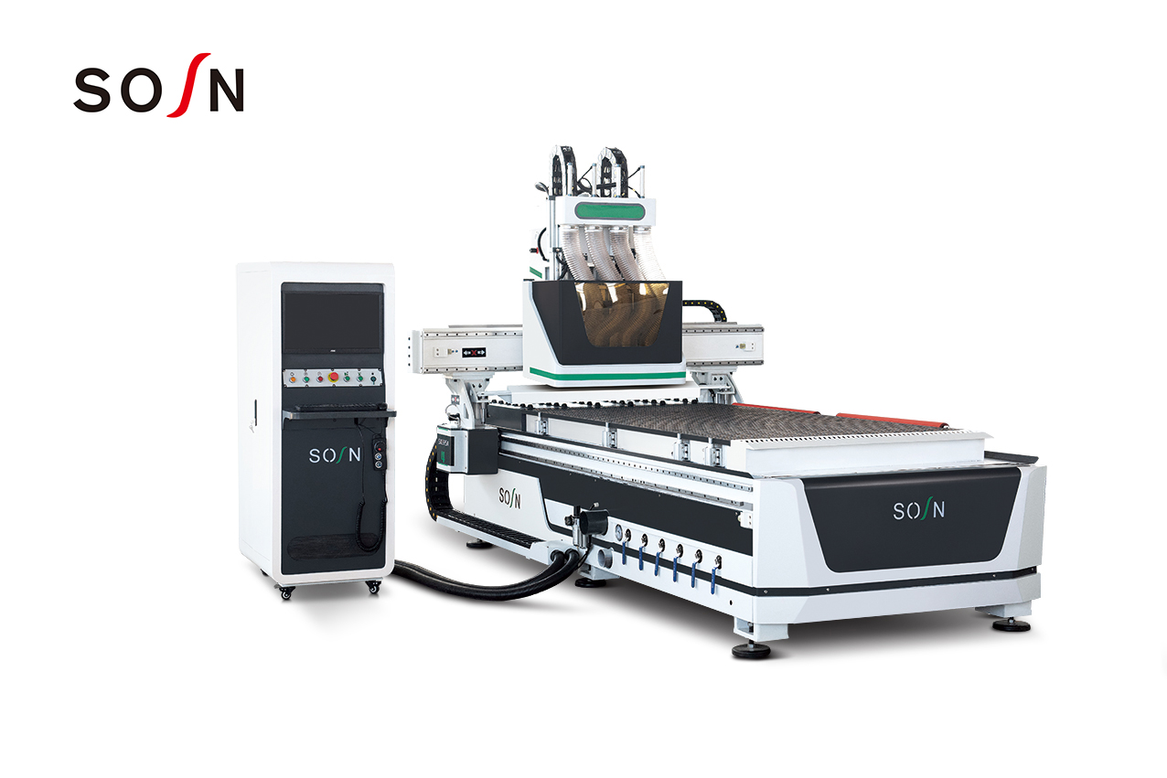 New Woodworking CNC Router SX1325A-4